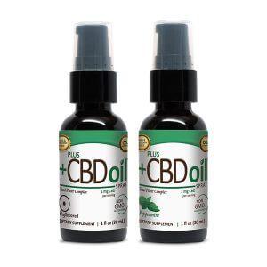 Plus CBD Spray Kannabisz Olaj Fújó Oliva Olajjal