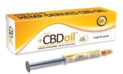 Plus CBD CBG CBC és CBD Olaj Szájon Át Alkalmazható Fecskendőben