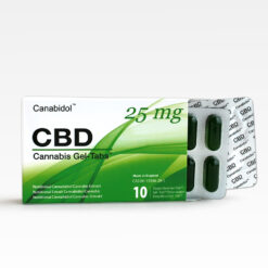 (Kanabisz EU) Canabidol™ CBD Gel-Tabs™ - Cannabis Sativa Gél Kapszula