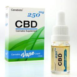 (Kanabisz EU) Canabidol™ Cannabis CBD Vape Liquid - Canabidol™ (Nikotinmentes) E-cigi Folyadék
