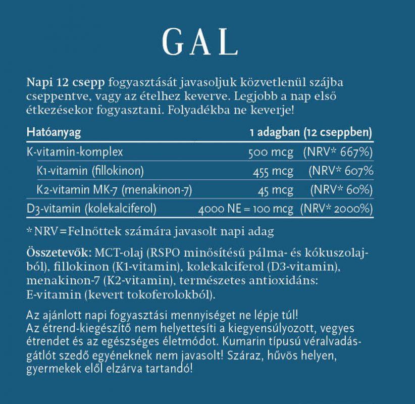 gal k2-d3 vitamin